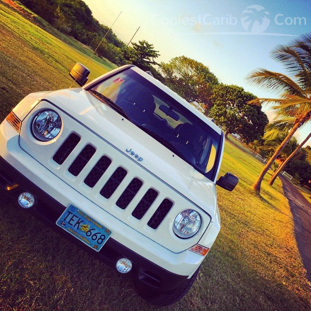 Jeep Patriot at Chenay Bay, Olympic Rent-A-Car, St. Croix, USVI