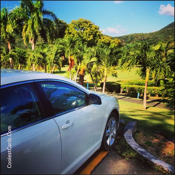 Carambola Golf Cours, Olympic Rent-A-Car, St. Croix, USVI